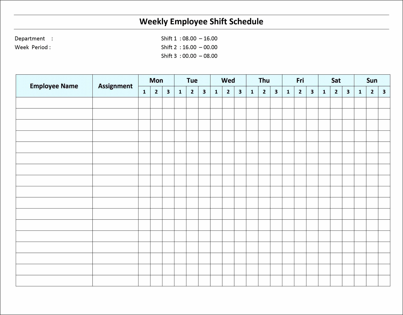 New Shift Schedules Templates Xls Xlsformat Xlstemplates