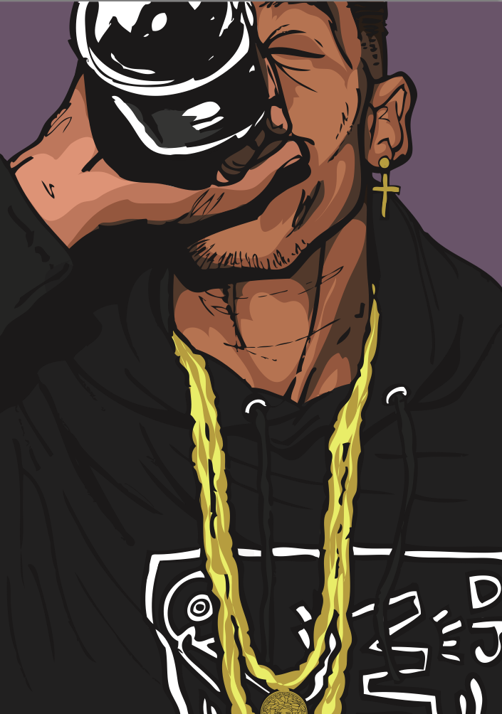 finest selection 153a0 bc64f travis-x  Photo by trill prince Hip Hop Art, Cartoon Drawings, Cartoon