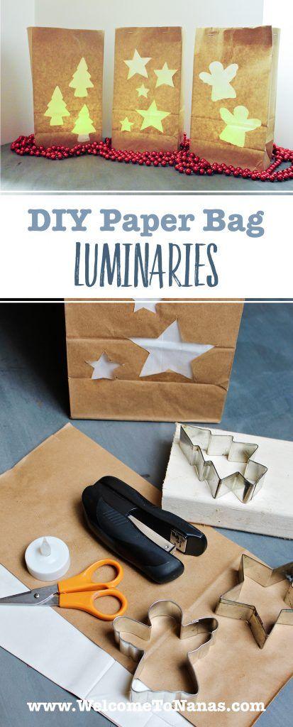 how to make luminary bags