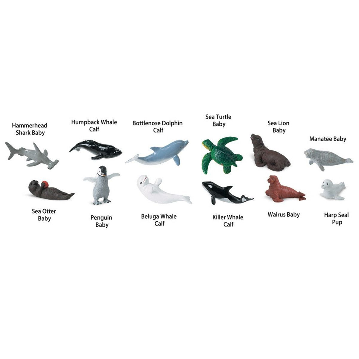 Toys & Hobbies Animals & Dinosaurs Animal Pack Baby Killer Whale Calf Mini Figure Play Toy Kids Ocean Sea Creature