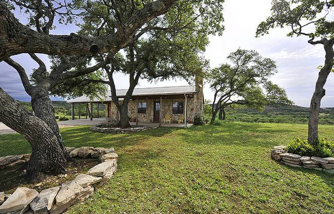 Texas hill country stone pool house texas ranch for sale for Texas hill country stone homes