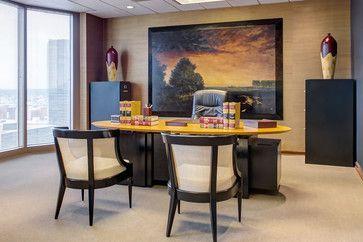 houzz interior design ideas office designs. Asian Office Decor | Houzz - Home Design, Decorating And Remodeling Ideas Inspiration . Interior Design Designs