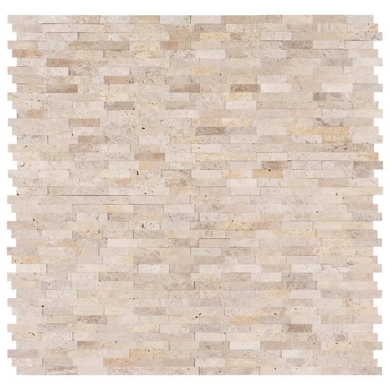 Roman 12 Quot X 12 Quot Travertine Peel Amp Stick Mosaic Tile