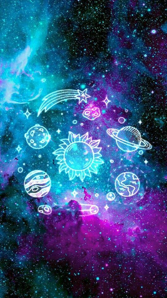 Wallpaper Planetas Tumblr Papel De Parede Planetas Tumblr