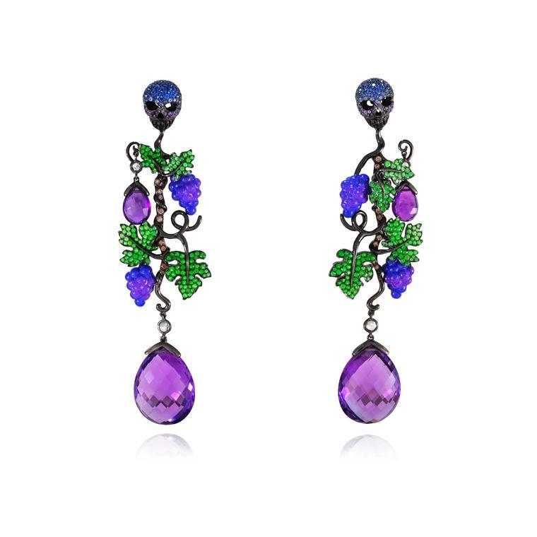 Lydia Courteille Vendange Tardive earrings