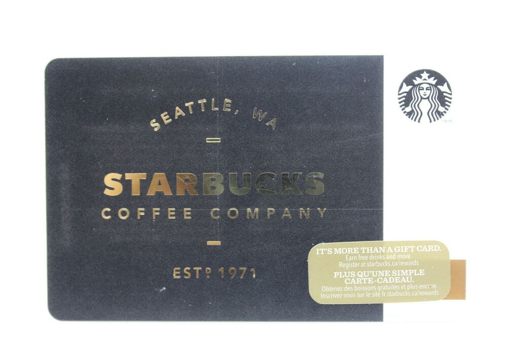 Details about starbucks coffee company 2014 gift card