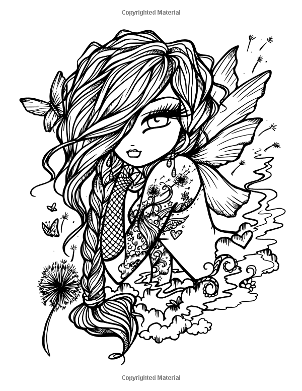 Tattoo Darlings: An Inky Girls Coloring Book: Hannah Lynn ...