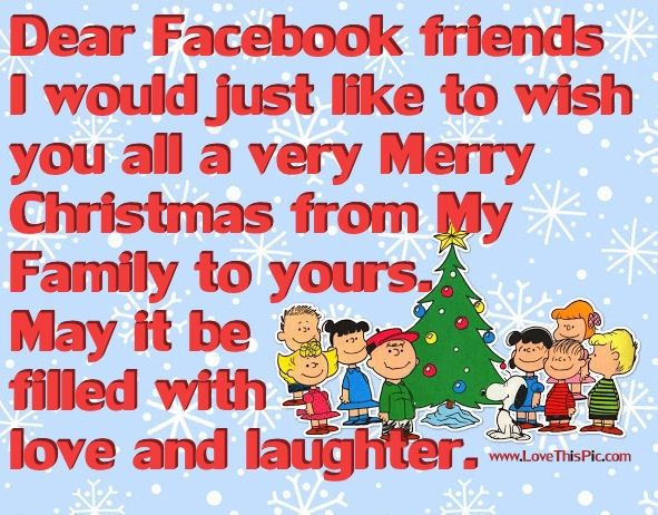 Merry Christmas Facebook Friends Facebook Christmas Xmas Merry Christmas Chr Merry Christmas Quotes Friends Christmas Quotes For Friends Christmas Quotes Funny