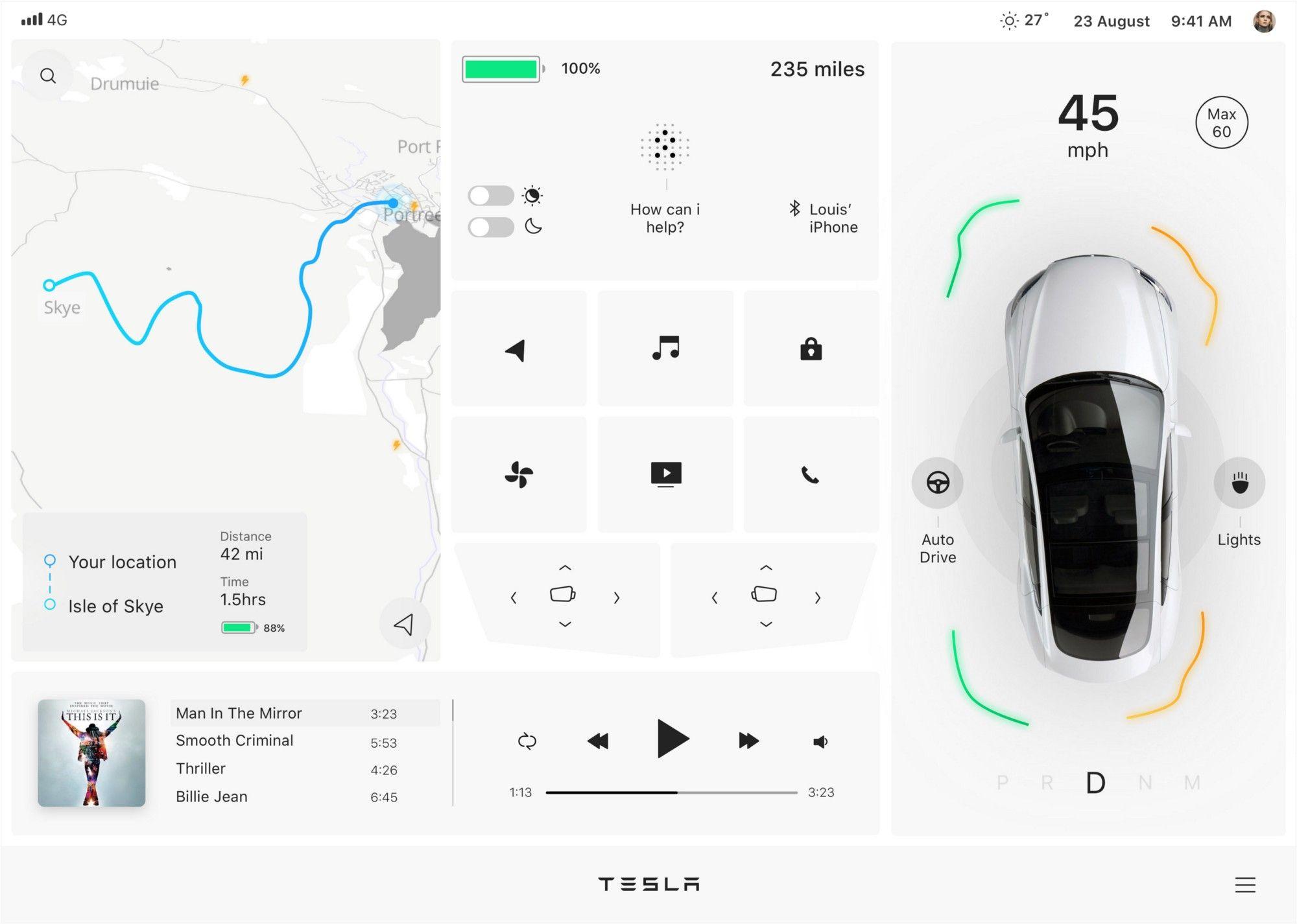 Car Control App - vozeli.com