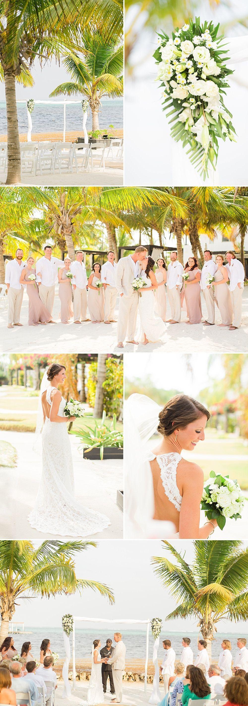 Las Terrazas Belize Wedding | Pinterest | Wedding reception flowers ...