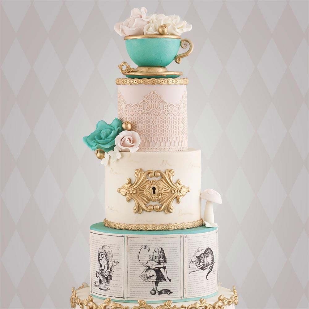 23 Unusual Wedding Cakes That Will Become Your New Obsession ...
