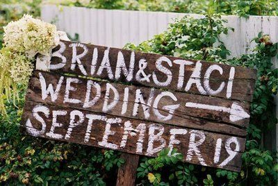 Wood Wedding Signs | Directional signs, Wood wedding signs and Wedding