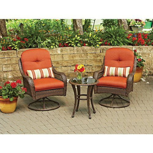 3 Piece Outdoor Furniture Set Better Homes And Gardens Azalea Ridge