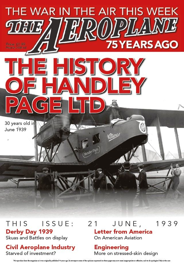 The Aeroplane - The History of Handley Page