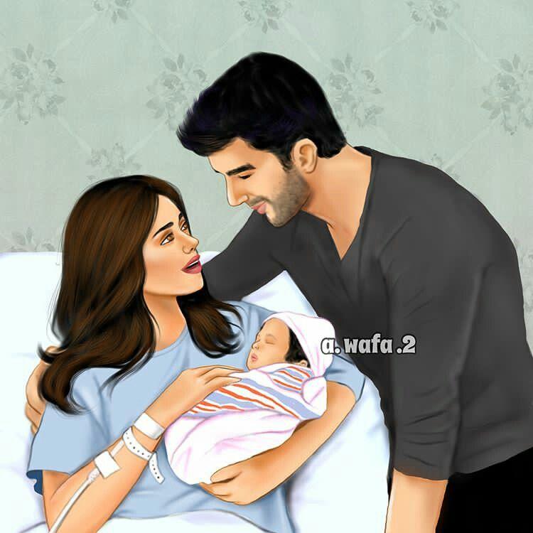 Pin By Marie Sanders Brandon On A Wafa 2 Baby Girl Art Love Cartoon Couple Cute Love Cartoons