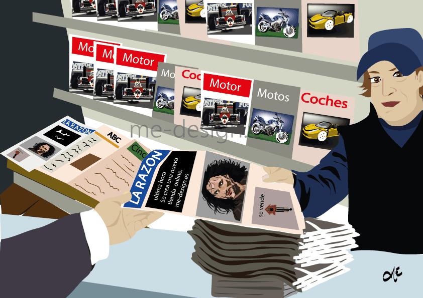 El Vendedor de periódicos, #ImagenesDecorativasDeOficios, #Oficios, #CuadrosDeOficios, #LaminasDeOficios, #PinturasDeOficios, #OficiosDelMundo, #Profesiones, #ImagenesDeProfesiones, #CuadrosDeProfesiones, #PinturasDeProfesiones, #LaminasDeProfesiones, #LaminasDeOficios