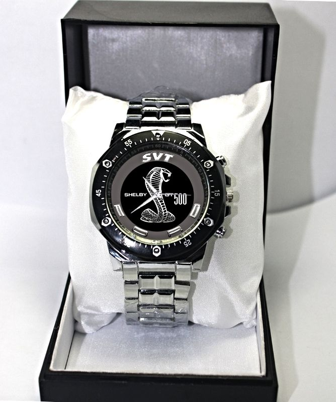 dea02959 New Sport Custom Stainless Steel Mens Watch Ford Shelby Cobra GT500 ...