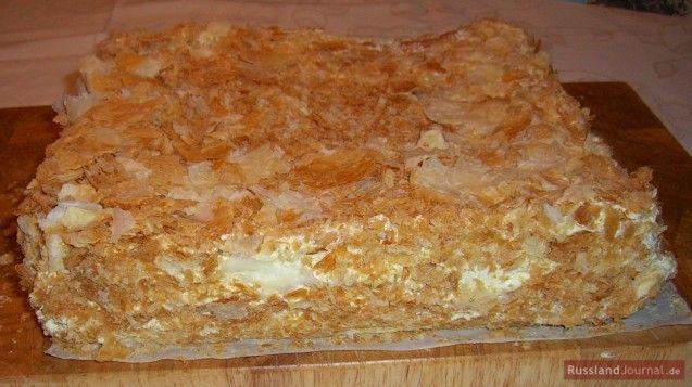 Napoleon-Torte   Cakes   Pinterest   Napoleon, Russische Küche und ...