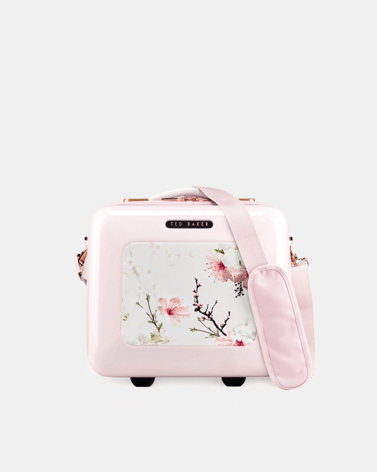 6808511fffba Ted Baker Oriental Blossom vanity case Baby Pink