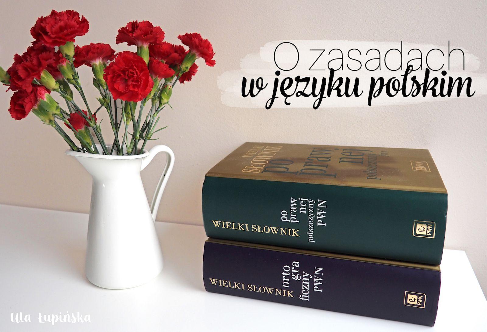 Zasady W Jezyku Polskim Ktorych Nie Lubie Cz 1 Ula Lupinska Mugs Glassware Tableware