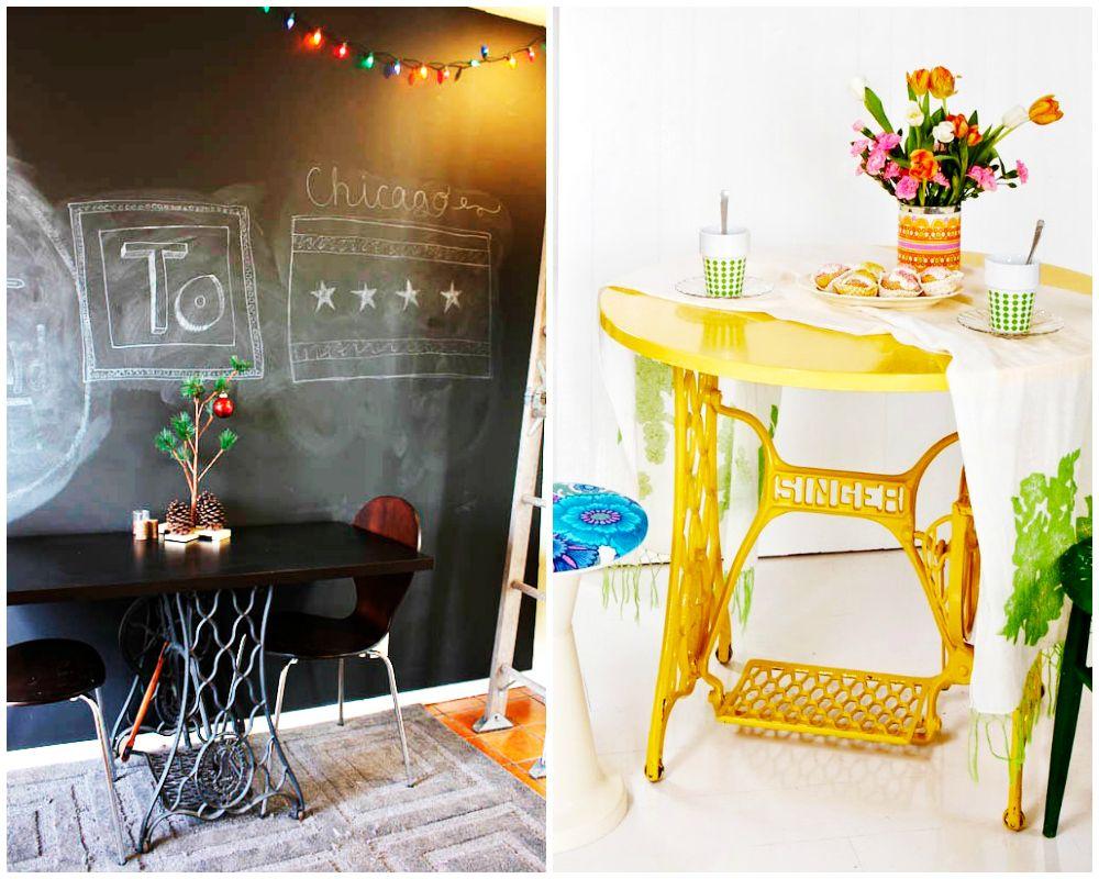 Ideas Reciclar Maquinas De Coser Hellomarielou 09 Tienda Shop  # Muebles Maquina De Coser Segunda Mano