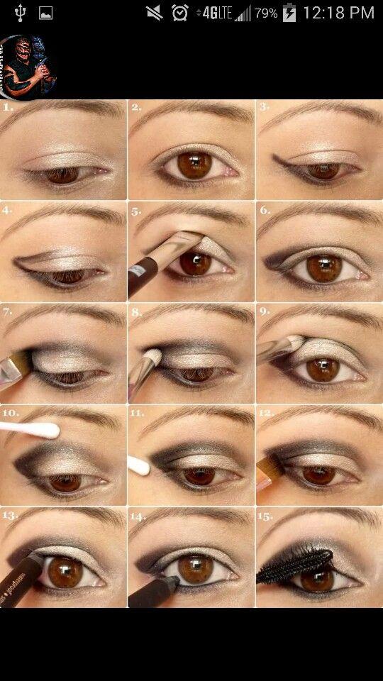 Proper Way To Put On Eyeshadow Applying Eye Makeup Smokey Eye Makeup Tutorial How To Apply Eyeshadow