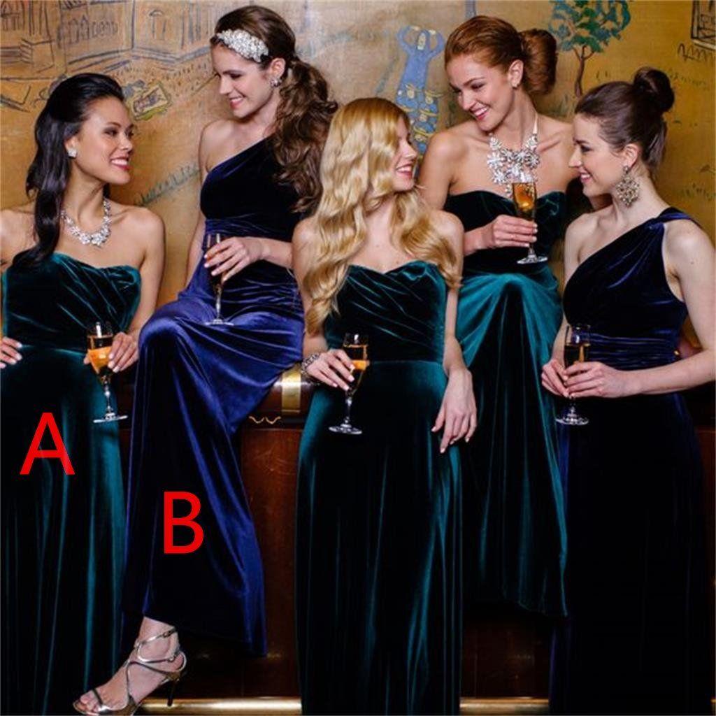 9aa07639591 Cranberry Red Velvet Bridesmaids Dresses - Alexis Foust Photography ...