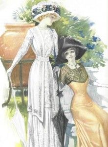 Blog with lots of Anne clothing descriptions