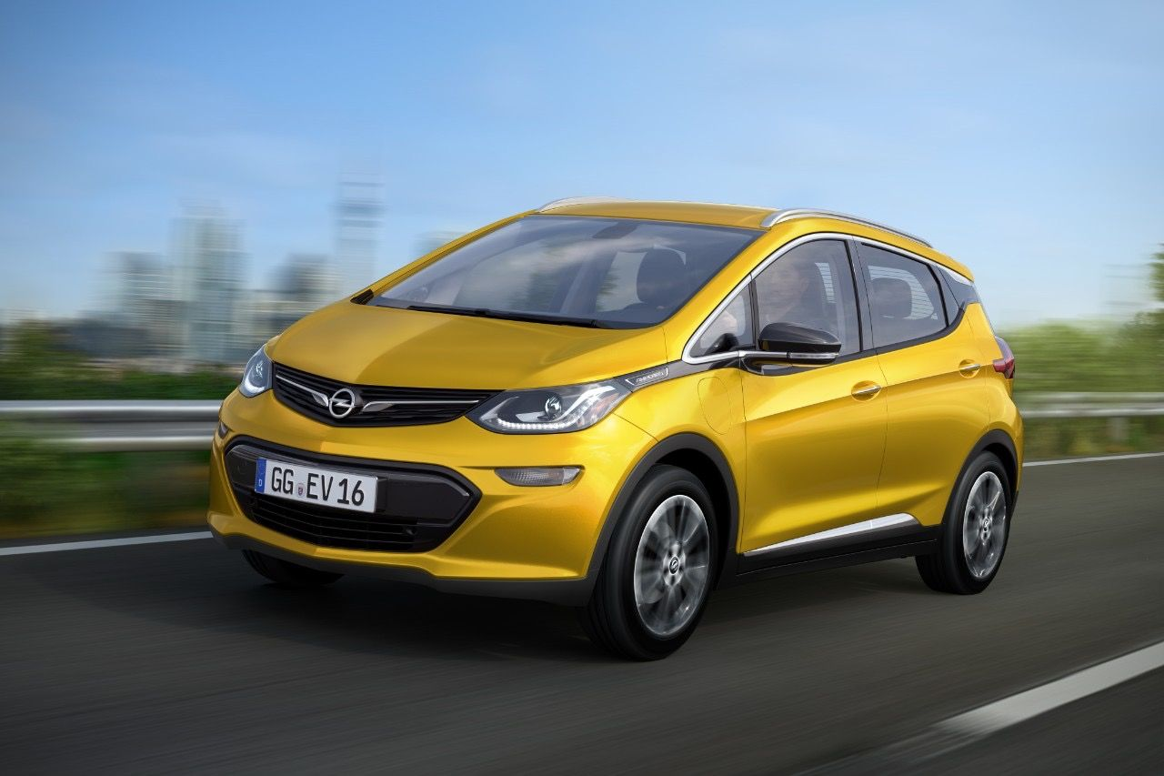 Chevy Bolt Ev To Be Sold In Europe As Opel Ampera E Electric Car