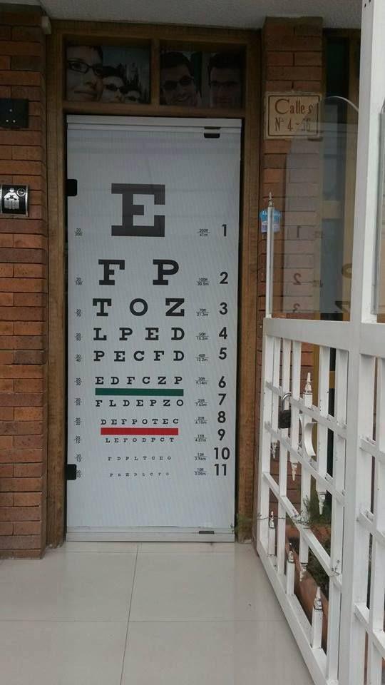 1ddecd951c Microperforado Optica | lentes | Opticas, Optometría, Salud visual