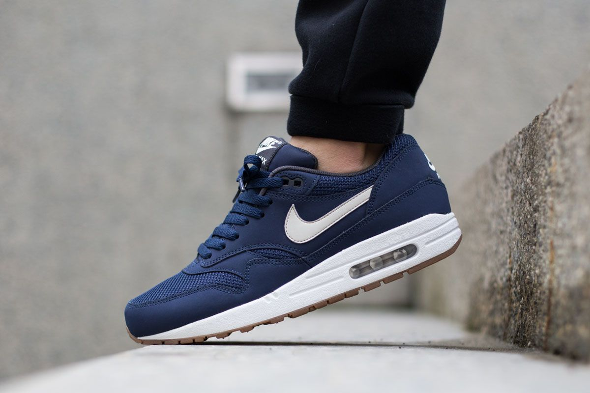 "Nike Air Max 1 Essential ""Midnight Navy/Gum"""