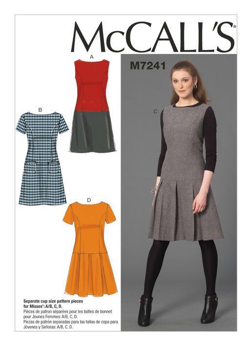 https://mccallpattern.mccall.com/m7241   Sewing Along   Pinterest ...