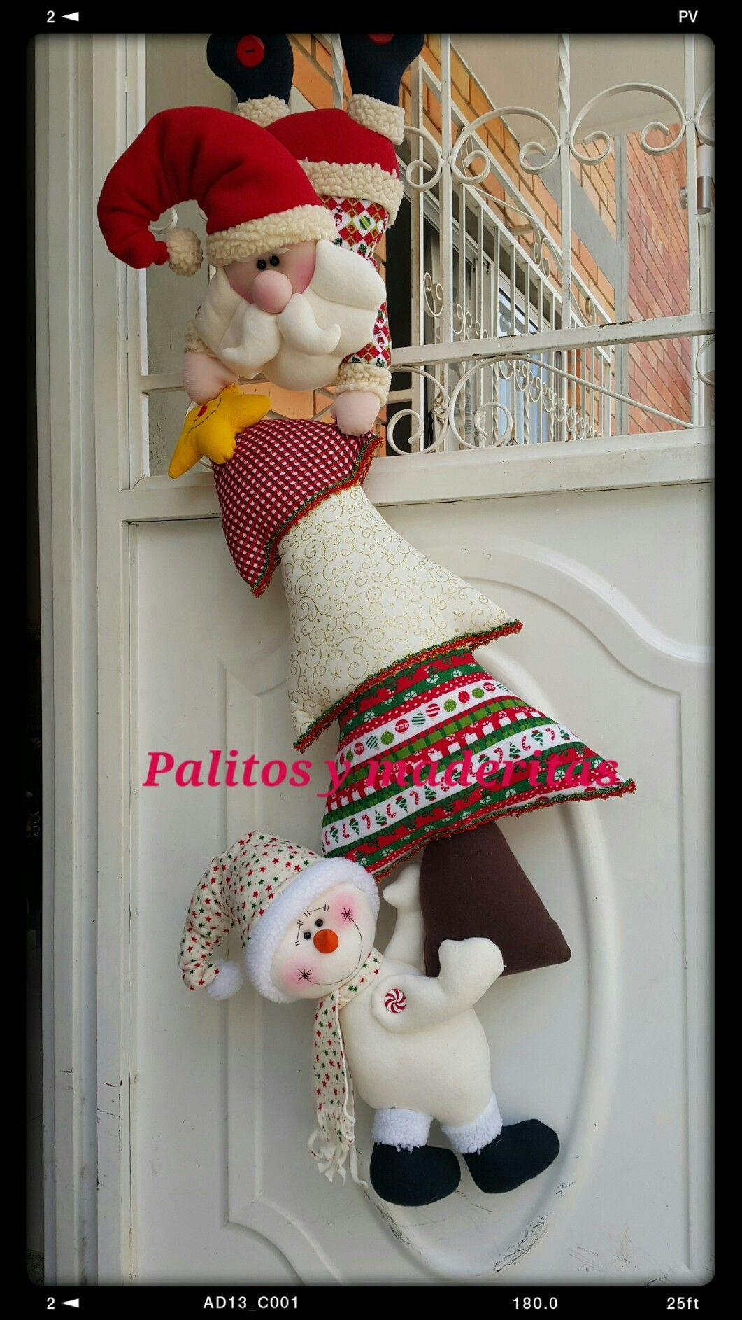 Palitos y maderitas navidad pinterest madera - Belen navidad manualidades ...