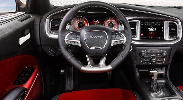 2016 Dodge Charger Hellcat Interior