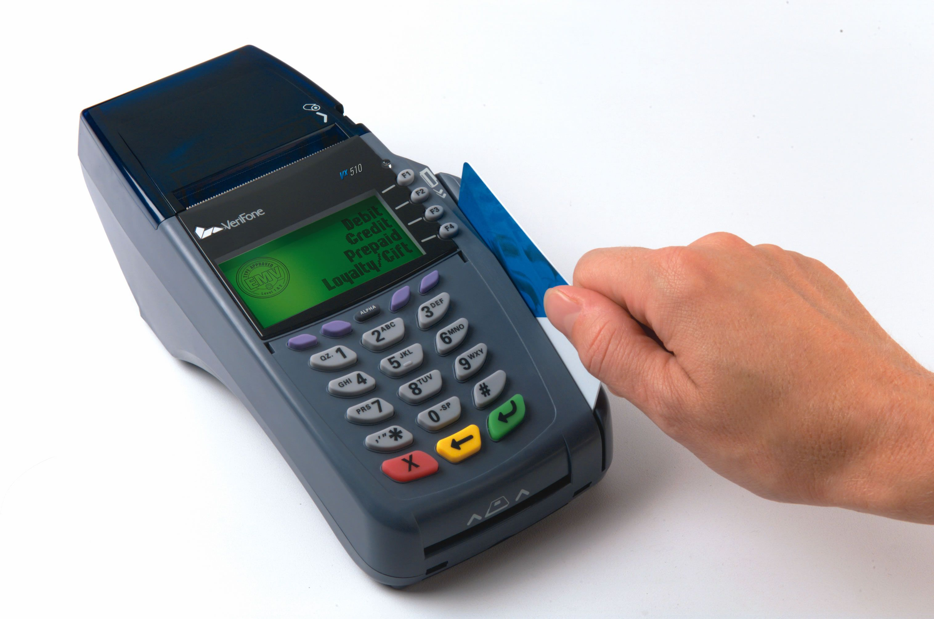 The credit card devices along with the software are provided for ...
