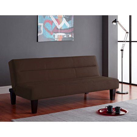 convertible futon sofa bed living room small space furniture college dorm room convertible futon sofa bed living room small space furniture      rh   pinterest