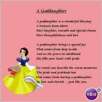 Godchild Daughter Of God Goddaughter Quotes God Parents