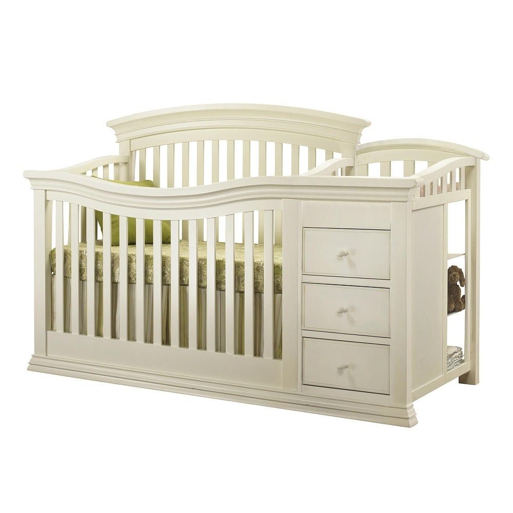 Sorelle Verona Crib and Changer in French White