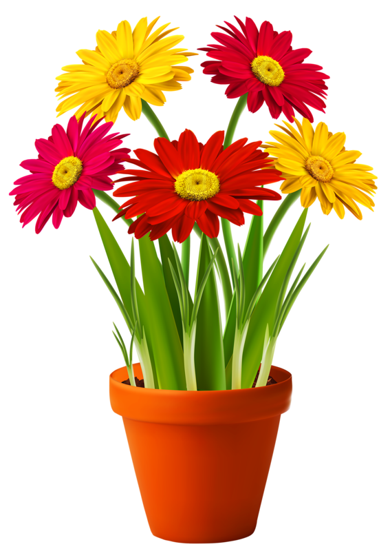 Picture 4.0 Flower clipart, Flower painting, Digital flowers