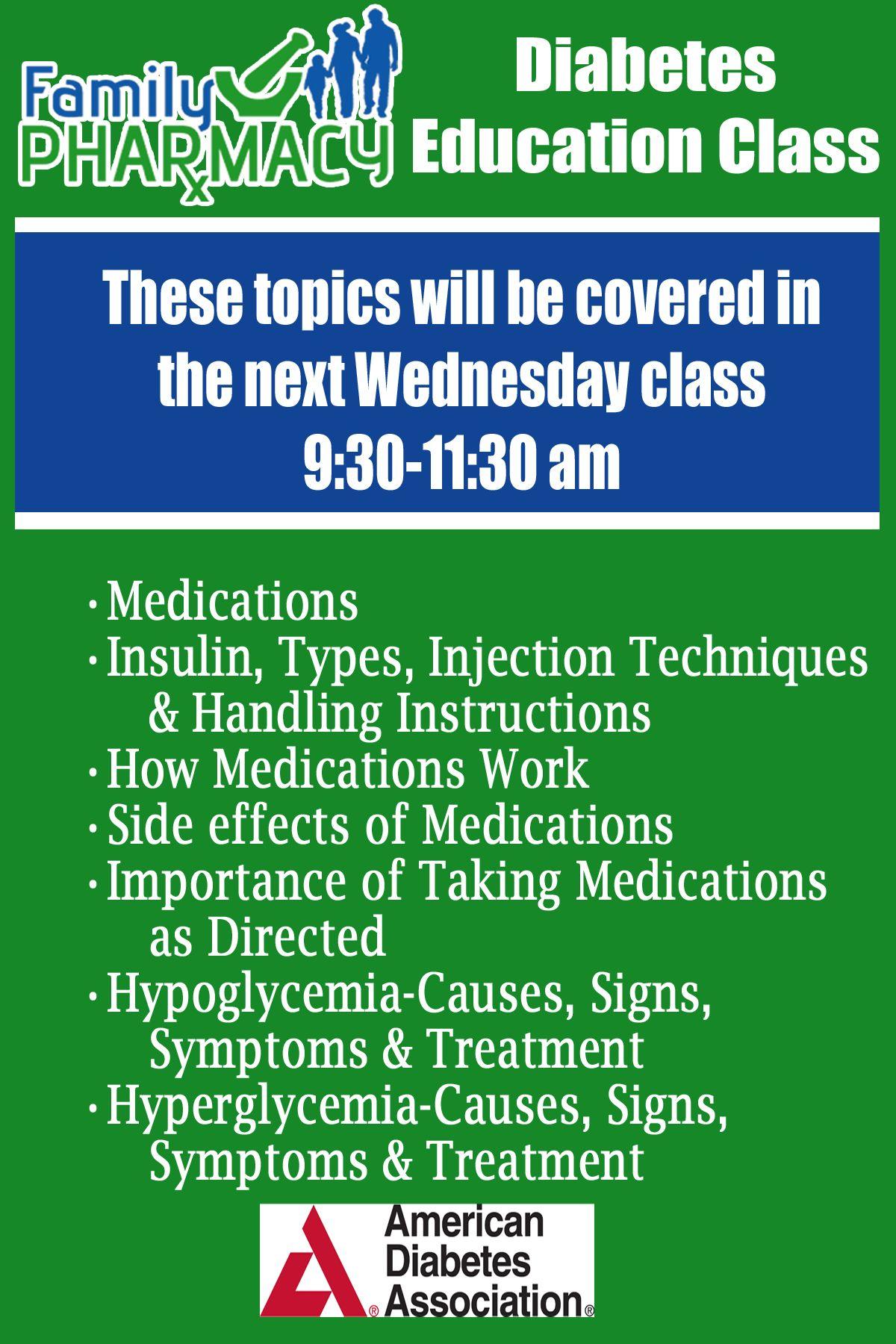 #Diabetes #Education Class