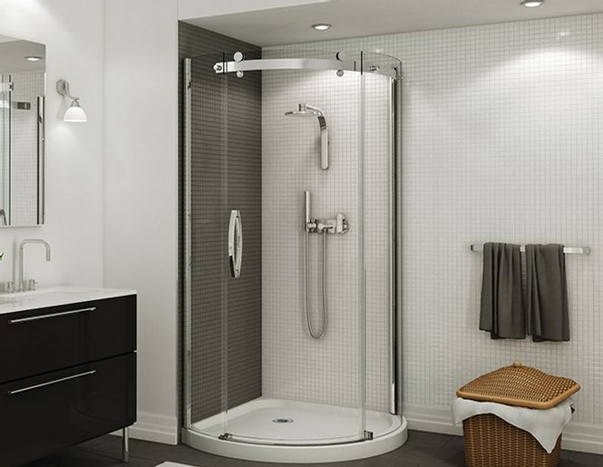 Corner Rounded Shower Images Halo Round Corner Shower