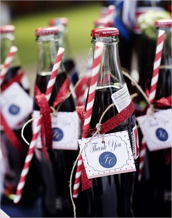 Americana Backyard Wedding Ideas | July wedding, Coke and Bottle