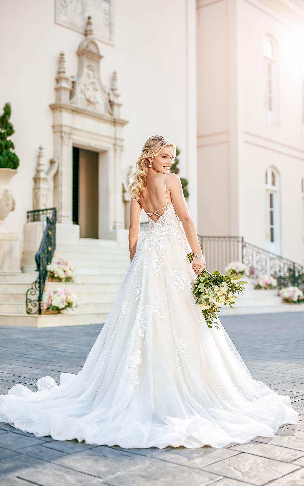 Stella York Wedding dresses, Boho wedding dress, Stella