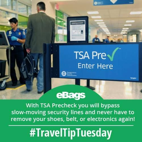If you fly more than once a year, you need TSA PreCheck. Now available at over 160 airports! Get it now! #LifeSaver #TravelTipTuesday