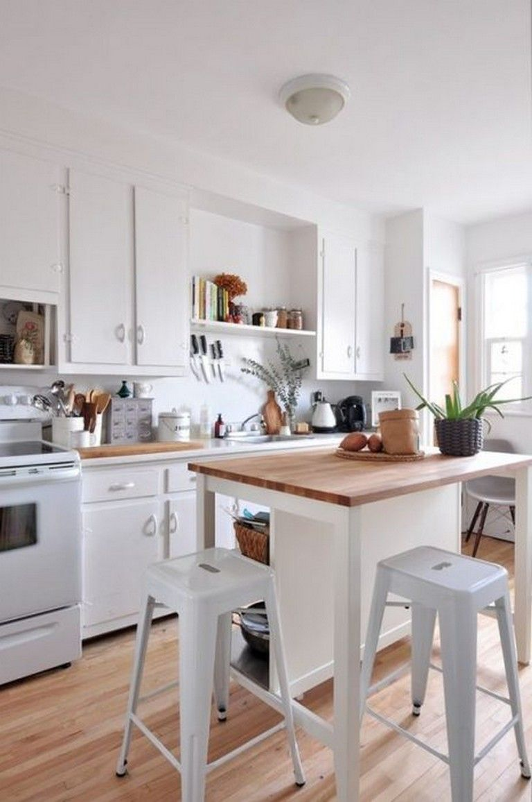 10 Admirable Kitchen Carts And Island Ideas Kitchens Kitchencarts Kitchendesignideas Small Apartment Kitchen Kitchen Design Small Kitchen Bar Design