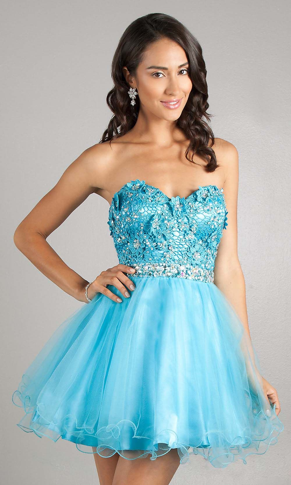 cute prom dresses, junior prom dresses, applique prom dress, short ...