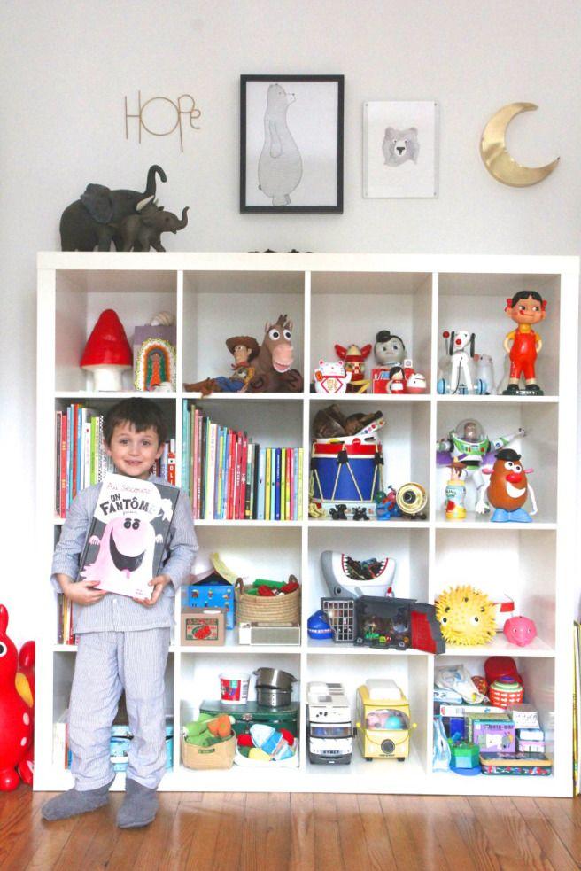 Kids room storage / eliabar.wordpress.com