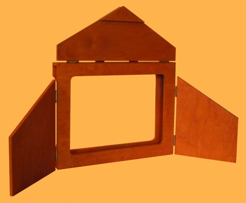 Callicéphale - BUTAI EN BOIS 3 volets, fermetures en bois, d
