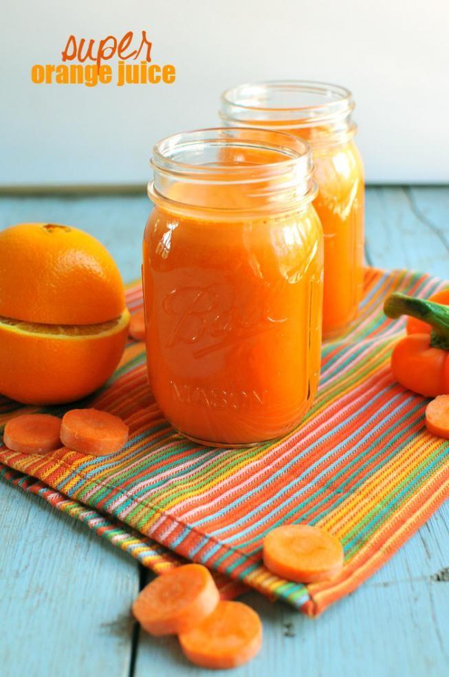 Super Orange Juice | Nosh and Nourish