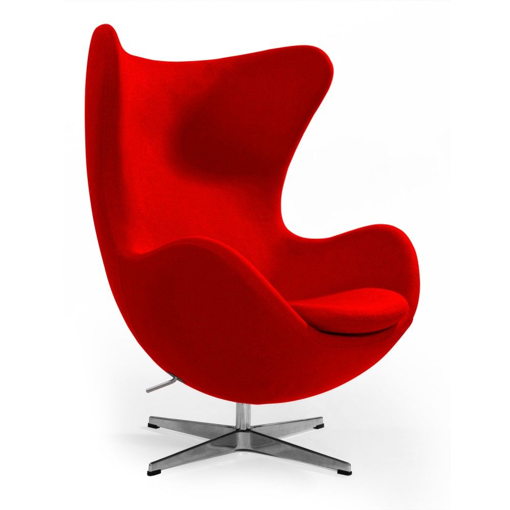 Red Orange Yellow Turquoise Accent Chair: Columbia Lounge Chair In Red By Aeon
